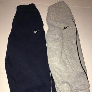 Boys Reebok Sweatpants Pants Size 5-6